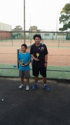 Kids junior tournament winners